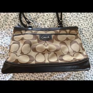 Coach Park Signature Carryall